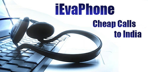 Cheap calls to India on iEvaPhone