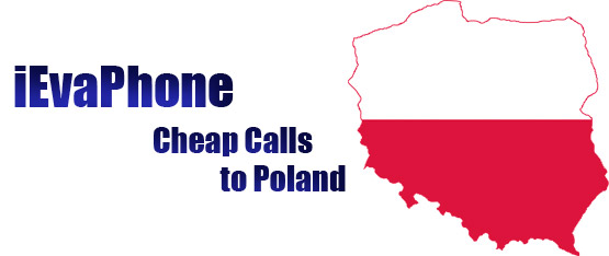 Cheap calls to Poland on iEvaPhone