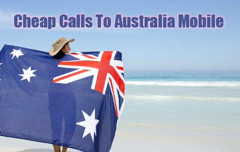 Cheap calls to Australia mobile on iEvaPhone