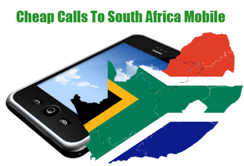 Cheap calls to South Africa mobile on iEvaPhone