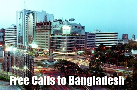 Free call to Bangladesh through iEvaPhone