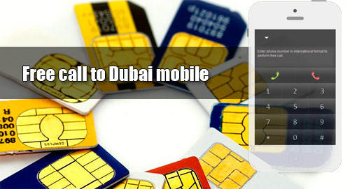 Free call to Dubai mobile through iEvaPhone