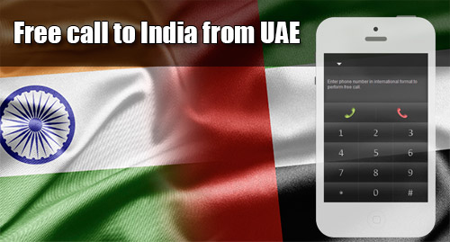 Free call to India from UAE through iEvaPhone
