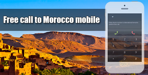 Free call to Morocco mobile through iEvaPhone