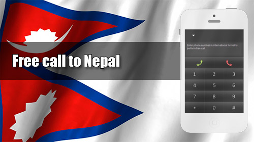 Free call to Nepal through iEvaPhone