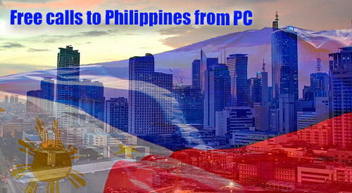 Free call to Philippines from PC through iEvaPhone