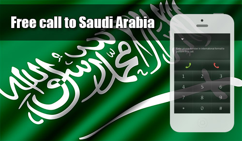 Free call to Saudi Arabia through iEvaPhone