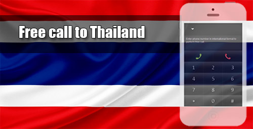 Free call to Thailand through iEvaPhone