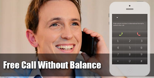 Free call without balance through iEvaPhone
