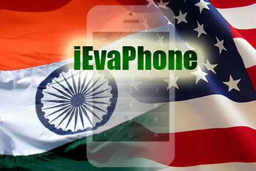 Free calls to India from USA or to USA from India with iEvaPhone