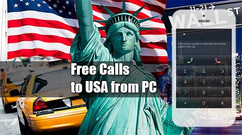 Free calls to USA from PC through iEvaPhone