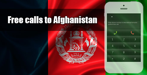 Free calls to Afghanistan through iEvaPhone