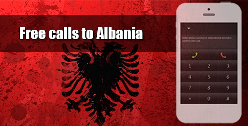 Free calls to Albania through iEvaPhone