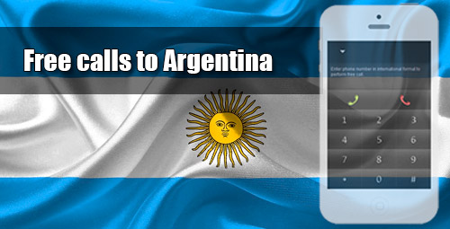 Free calls to Argentina through iEvaPhone