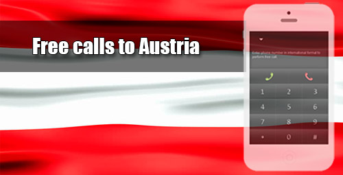 Free calls to Austria through iEvaPhone