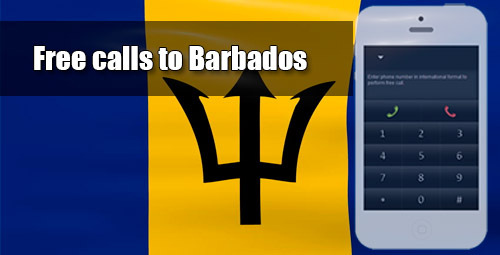 Free calls to Barbados through iEvaPhone