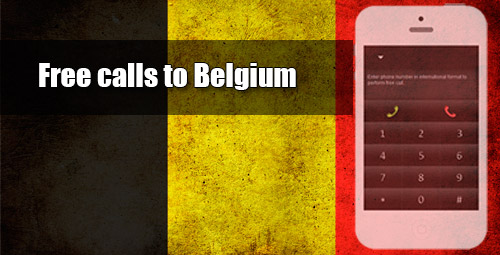 Free calls to Belgium through iEvaPhone