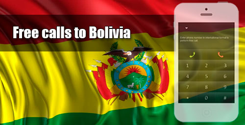 Free calls to Bolivia through iEvaPhone