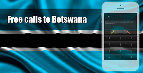 Free calls to Botswana through iEvaPhone