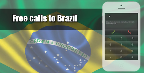 Free calls to Brazil with iEvaPhone