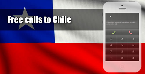 Free calls to Chile through iEvaPhone