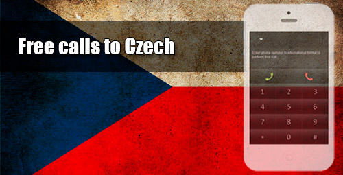 Free calls to Czech through iEvaPhone