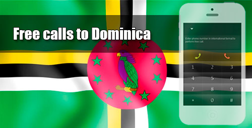 Free calls to Dominica through iEvaPhone