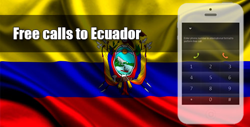 Free calls to Ecuador through iEvaPhone
