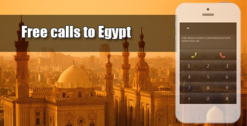 Free calls to Egypt with iEvaPhone