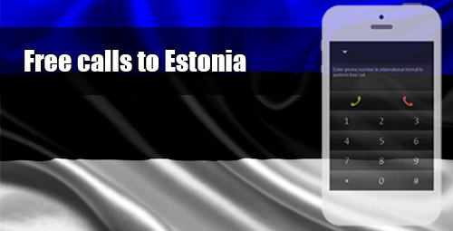 Free calls to Estonia through iEvaPhone