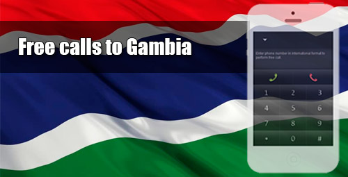 Free calls to Gambia through iEvaPhone