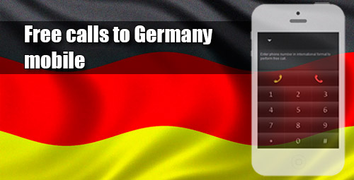 Free calls to Germany mobile through iEvaPhone