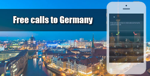 Free calls to Germany through iEvaPhone