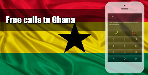 Free calls to Ghana through iEvaPhone