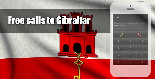 Free calls to Gibraltar through iEvaPhone
