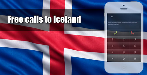 Free calls to Iceland through iEvaPhone