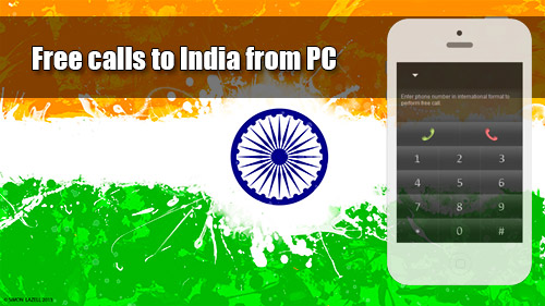 Free calls to India from PC through iEvaPhone