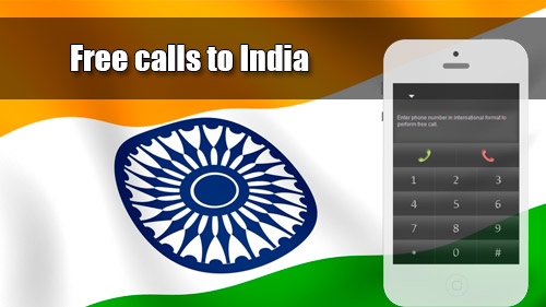 Free calls to India with iEvaPhone