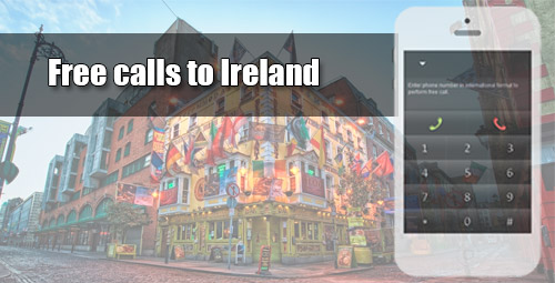 Free calls to Ireland through iEvaPhone