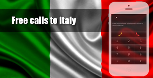Free calls to Italy through iEvaPhone