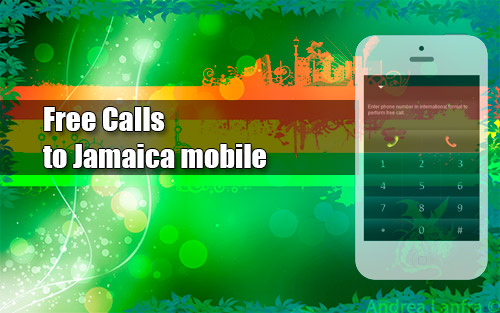 Free calls to Jamaica mobile through iEvaPhone