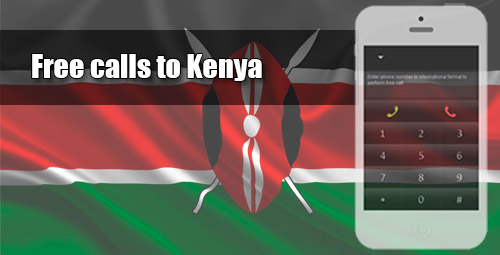 Free calls to Kenya through iEvaPhone