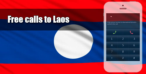 Free calls to Laos through iEvaPhone