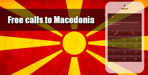Free calls to Macedonia through iEvaPhone