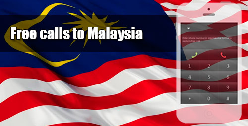 Free calls to Malaysia through iEvaPhone