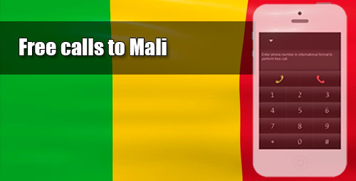 Free calls to Mali through iEvaPhone
