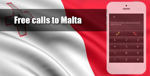 Free calls to Malta through iEvaPhone