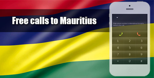 Free calls to Mauritius through iEvaPhone