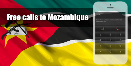Free calls to Mozambique through iEvaPhone