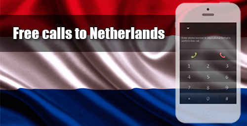 Free calls to Netherlands through iEvaPhone